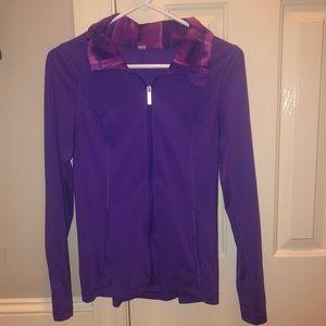 Purple Under Armour Pullover